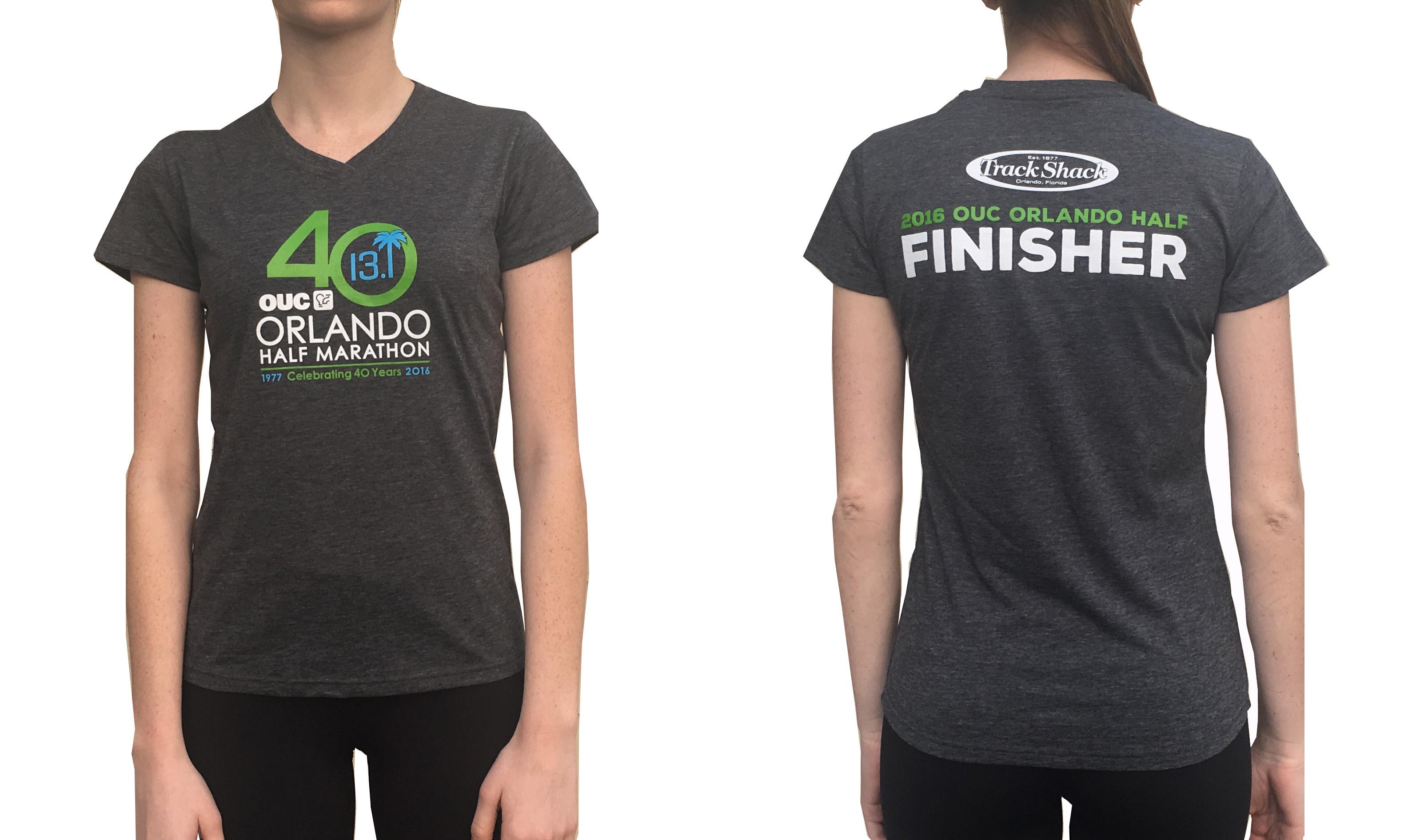 OUC Orlando Half Finisher Shirt