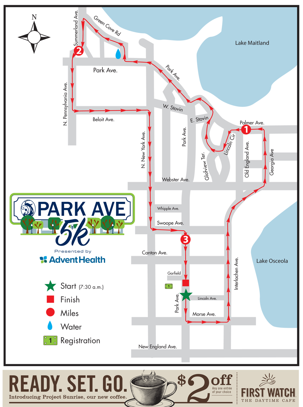 Track Shack Park Ave 5k Presented By Adventhealth Sold Out