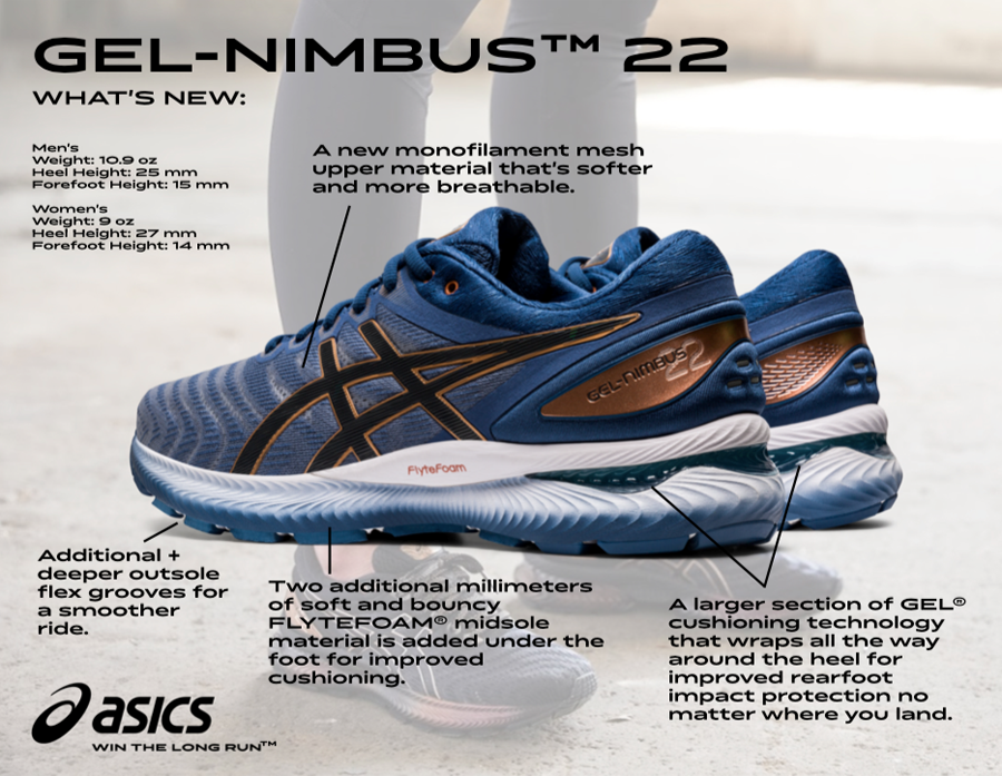 Track Shack - Staff Shoe Review – ASICS Gel Nimbus 22